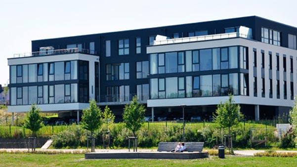 Bürogebäude Lovion GmbH und ITS Gruppe in Dortmund am Phoenixsee