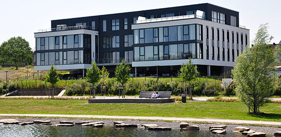 Lovion GmbH am Phoenixsee in Dortmund