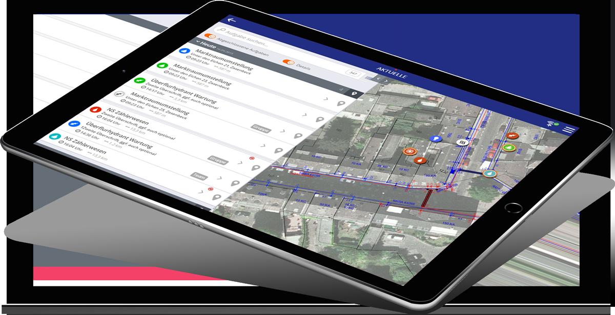iPad mit Lovion TASK APP