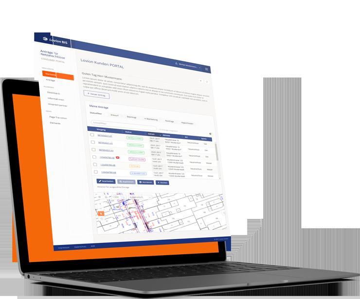 Lovion PORTAL Client - Browserlösungen
