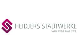 Logo HEIDJERS STADTWERKE