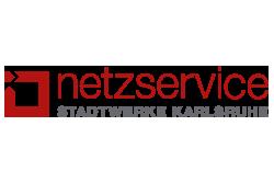 Logo NETZSERVICE STADTWERKE KARLSRUHE