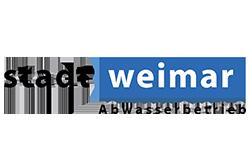 Logo STADT WEIMAR ABWASSERBETRIEB